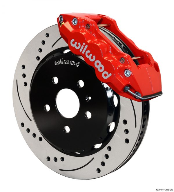 Wilwood 140 11269 Front Brake Kit W6A