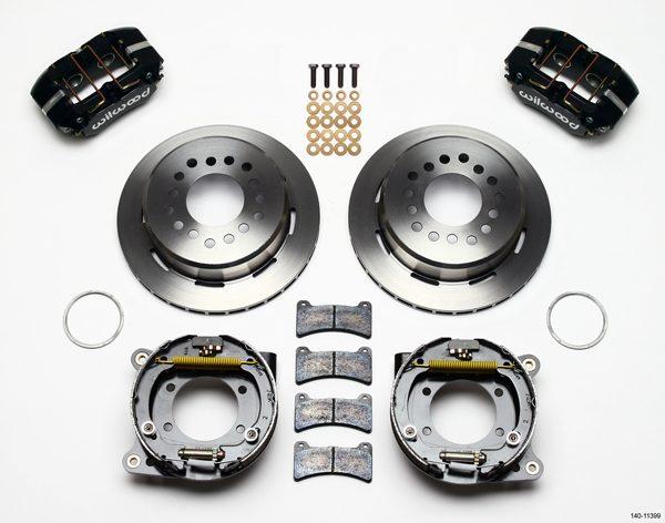 Wilwood 140 7148 Forged Dynalite Rear Parking Brake Kit