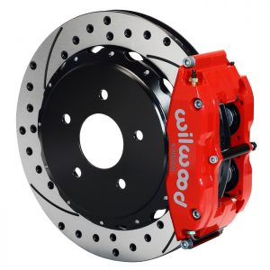 Wilwood 140 9830-DR Forged Narrow Superlite 4R Big Brake Rear Brake Kit